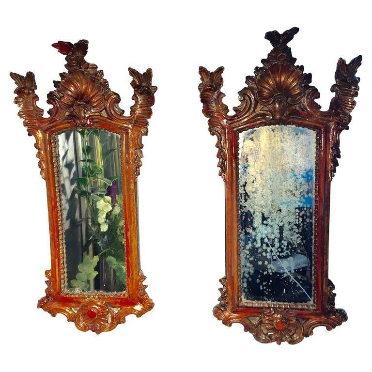Pair Of Baroque Mirrors For Sale At 1Stdibs Intended For Baroque Mirrors (#18 of 20)