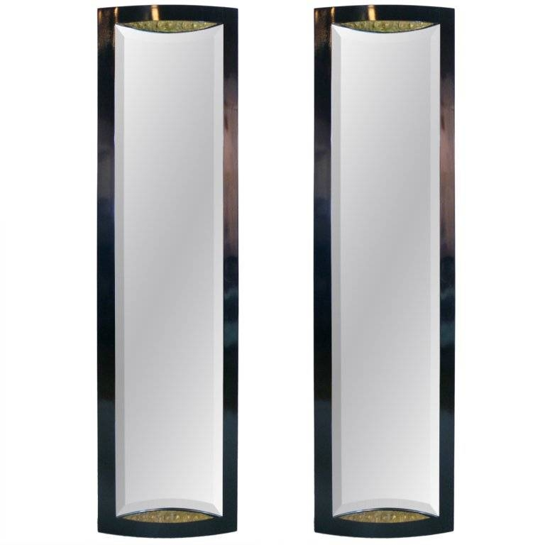 Pair Of French Art Deco Full Length Mirrors At 1Stdibs With Regard To Art Deco Full Length Mirrors (#19 of 20)