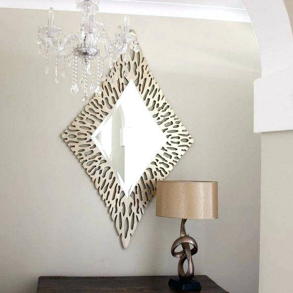 Pair Of Unusual Shaped Mirrorsodd Mirrors Uk Odd Bathroom – Shopwiz Pertaining To Odd Shaped Mirrors (#17 of 20)