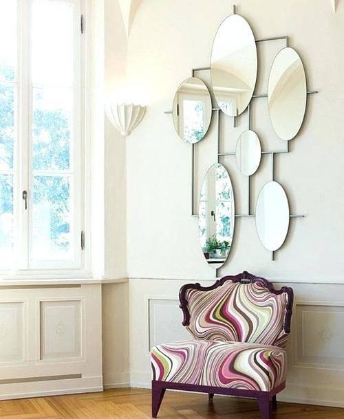 Pair Of Unusual Shaped Mirrorsodd Mirrors Uk Odd Bathroom – Shopwiz With Regard To Odd Shaped Mirrors (#18 of 20)