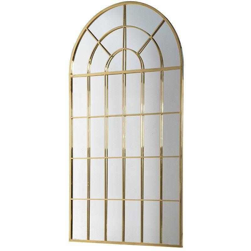 Park Lane Gold Arch Window Mirror With Regard To Gold Arch Mirrors (#19 of 20)