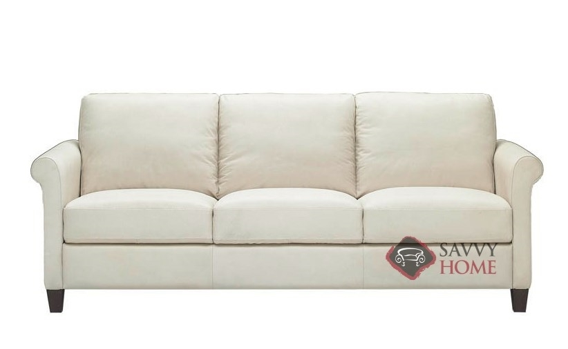 Parma B580 Leather Sofa Natuzzi Is Fully Customizable You Throughout Ivory Leather Sofas (#9 of 15)