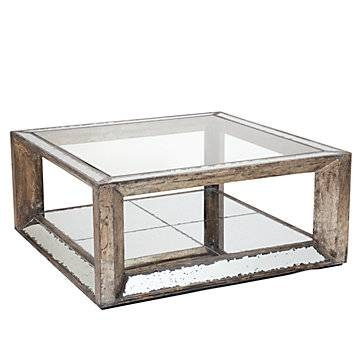 Pascual Mirrored Coffee Table | Z Gallerie Intended For Occasional Tables Mirrors (#29 of 30)