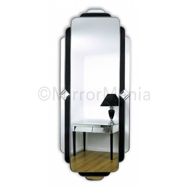 Passion Original Handcrafted Art Deco Full Length Mirror Within Art Deco Full Length Mirrors (View 3 of 20)