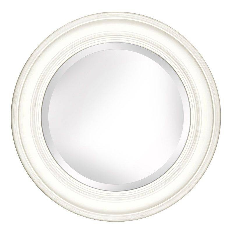 Penrose Barley Round Wall Mirror | Duck Barn Interiors With Round White Mirrors (#15 of 30)