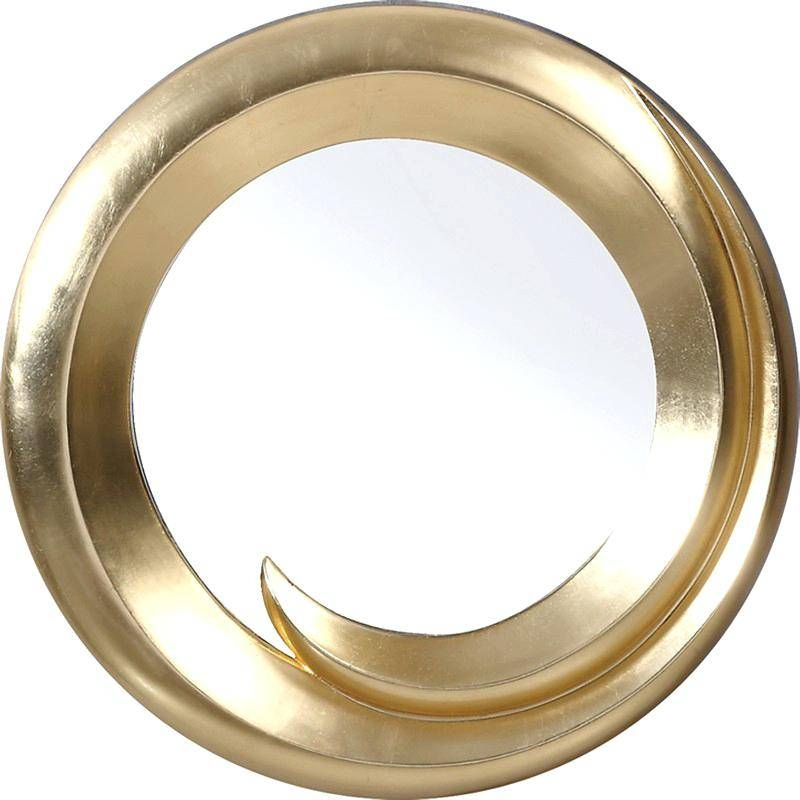 Perfect Decoration Gold Framed Wall Mirror Fanciful Marina Inside Gold Round Mirrors (View 20 of 20)