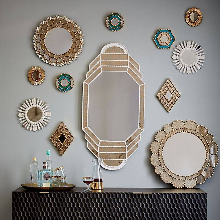 Peruvian Artisan Mirrors | West Elm For Mirrors (#28 of 30)