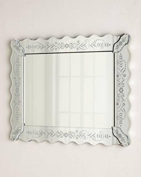 Petite Fleur Venetian Style Mirror In Venetian Style Mirrors (#17 of 30)
