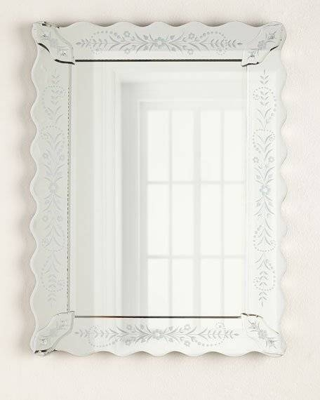 Petite Fleur Venetian Style Mirror With Regard To Venetian Style Mirrors (#18 of 30)