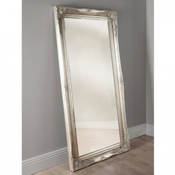 Pewter Ornate Floor Mirror| Poundstretcher | Poundstretcher In Pewter Ornate Mirrors (View 29 of 30)