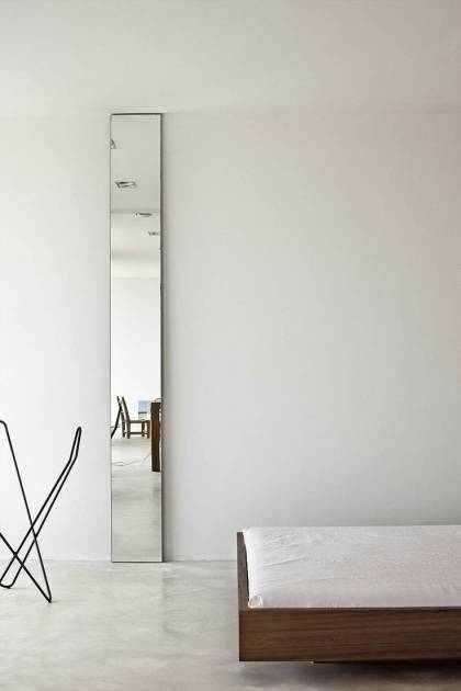 Picture Of Long Thin Wall Mirror Narrow Bathroom Wall Mirrors For Long Thin Mirrors (#26 of 30)