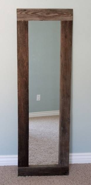 Picture Of Long Thin Wall Mirror Narrow Bathroom Wall Mirrors Within Long Thin Mirrors (#27 of 30)