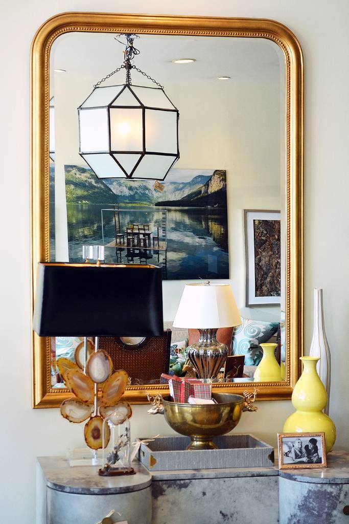 Pierre Mirror With Curved Top – Mecox Gardens For Curved Top Mirrors (View 30 of 30)