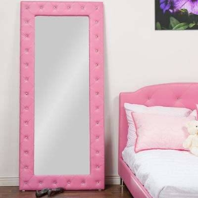 Pink – Mirrors – Wall Decor – The Home Depot Regarding Wall Leather Mirrors (#22 of 30)