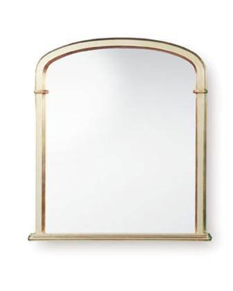 Plain Gold Arch Top Mirror (32 X 34 Inch) – £ (#20 of 20)