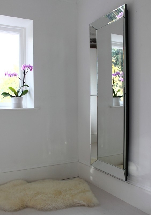Plain Venetian Full Length Mirror | Mirrors In Venetian Full Length Mirrors (#20 of 30)