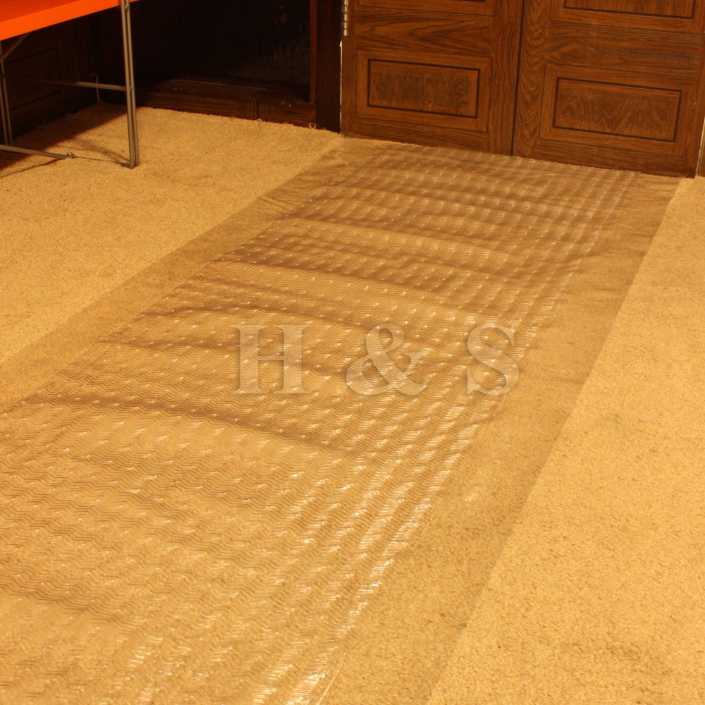 Plastic Carpet Protector Runner Office Hallway Film Mat Roll Ebay Within Plastic Carpet Protector Hallway Runners (#18 of 20)