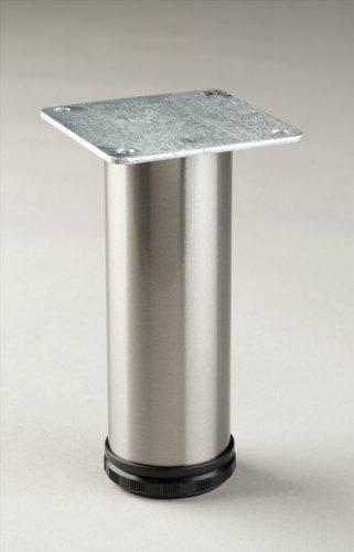 Pmi Como 8 To 9 Adjustable Cabinet Leg Chrome Furniture Legs Pertaining To Adjustable Sofa Legs (#12 of 15)