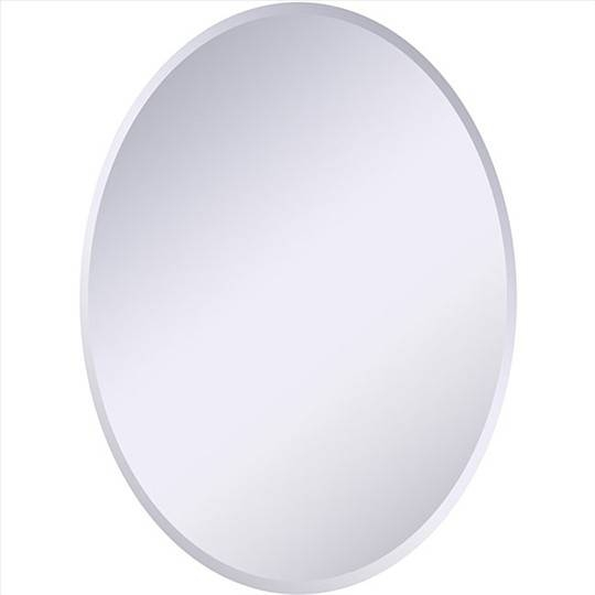 Polished Edge Mirrors, Beveled Mirrors & More Intended For Oval Bevelled Mirrors (#26 of 30)