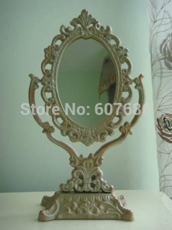 Popular Antique Table Mirrors Buy Cheap Antique Table Mirrors Lots Regarding Decorative Table Mirrors (View 19 of 30)