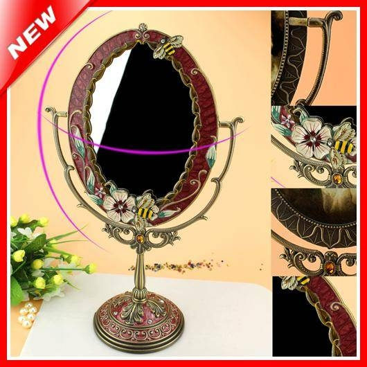 Popular Antique Table Mirrors Buy Cheap Antique Table Mirrors Lots Within Standing Table Mirrors (#22 of 30)