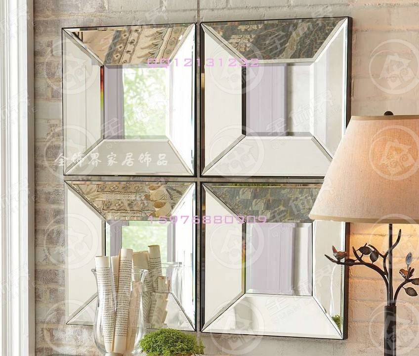 Popular Beveled Square Mirror Buy Cheap Beveled Square Mirror Lots Regarding Square Bevelled Mirrors (View 7 of 15)