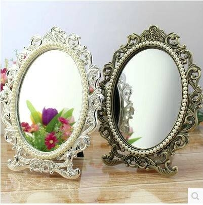 Popular Mirror Stand Table Buy Cheap Mirror Stand Table Lots From With Regard To Decorative Table Mirrors (View 26 of 30)