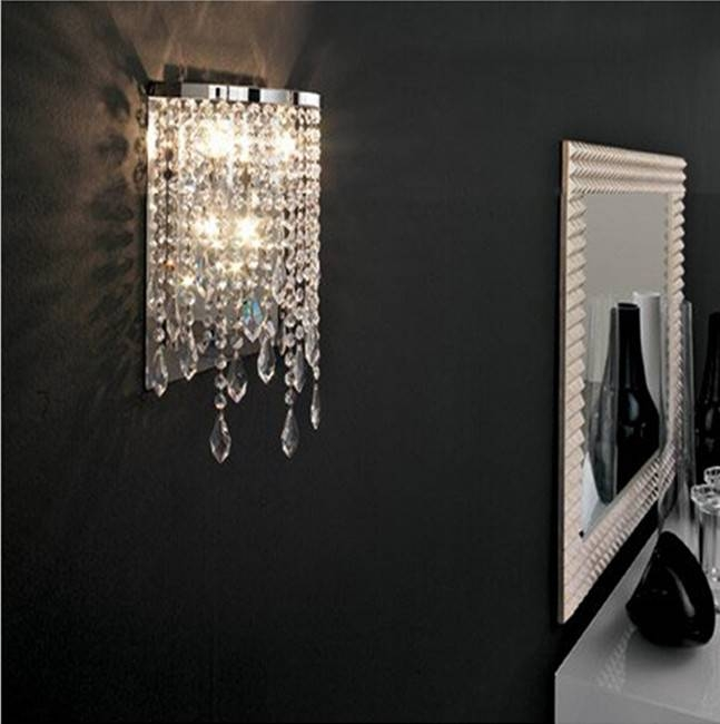 Popular Mirror Wall Lights Buy Cheap Mirror Wall Lights Lots From With Wall Light Mirrors (View 18 of 30)