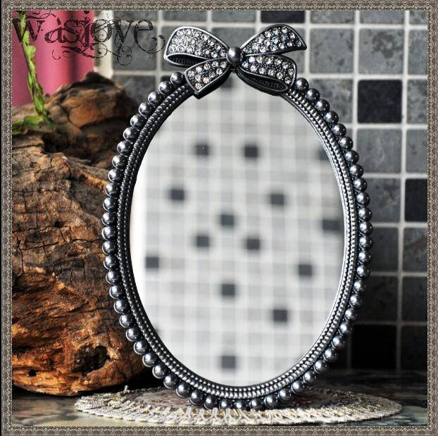 Popular Small Table Mirror Buy Cheap Small Table Mirror Lots From Throughout Decorative Table Mirrors (View 27 of 30)