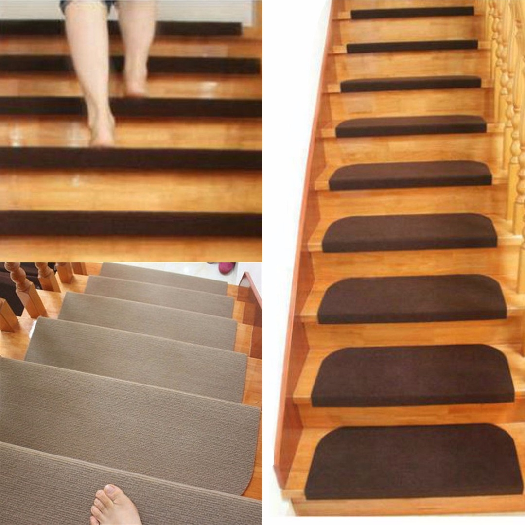 Popular Stair Treads Carpet Buy Cheap Stair Treads Carpet Lots For Country Stair Tread Rugs (View 19 of 20)
