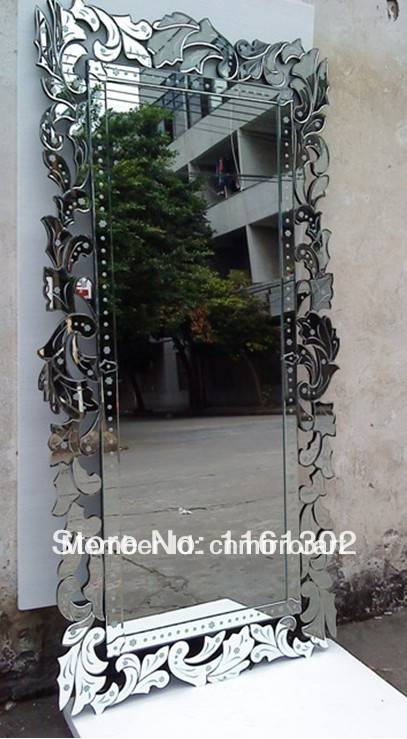 Popular Venetian Glass Mirror Buy Cheap Venetian Glass Mirror Lots Within Venetian Floor Mirrors (#21 of 30)