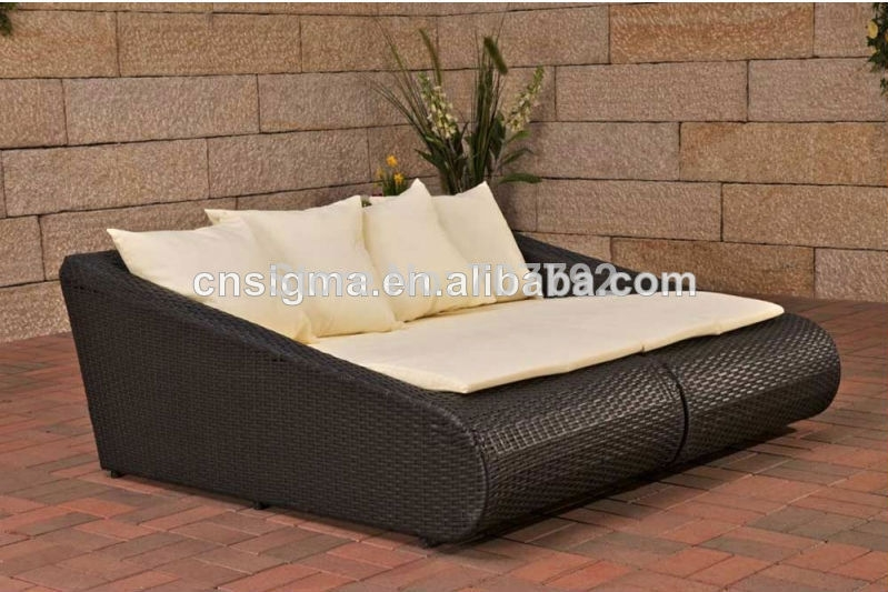 Popular Wicker Sofa Beds Buy Cheap Wicker Sofa Beds Lots From Throughout Sofa Lounger Beds (#9 of 15)