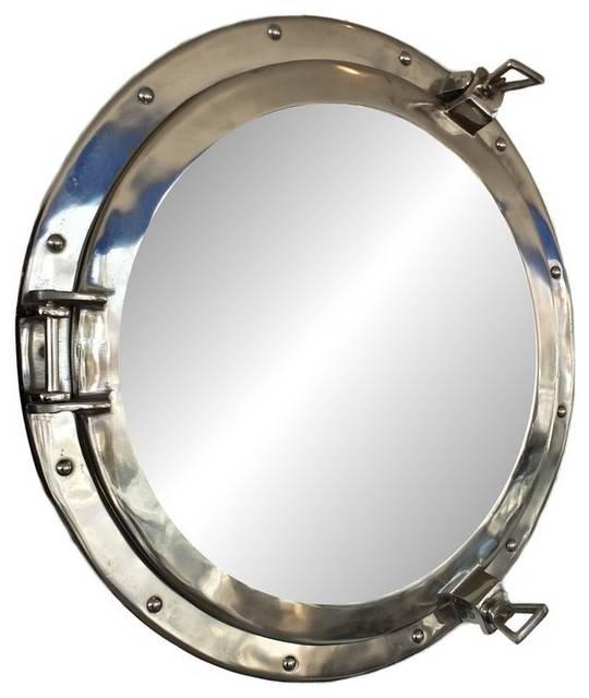 Porthole Mirror | Houzz Pertaining To Round Porthole Mirrors (View 6 of 30)