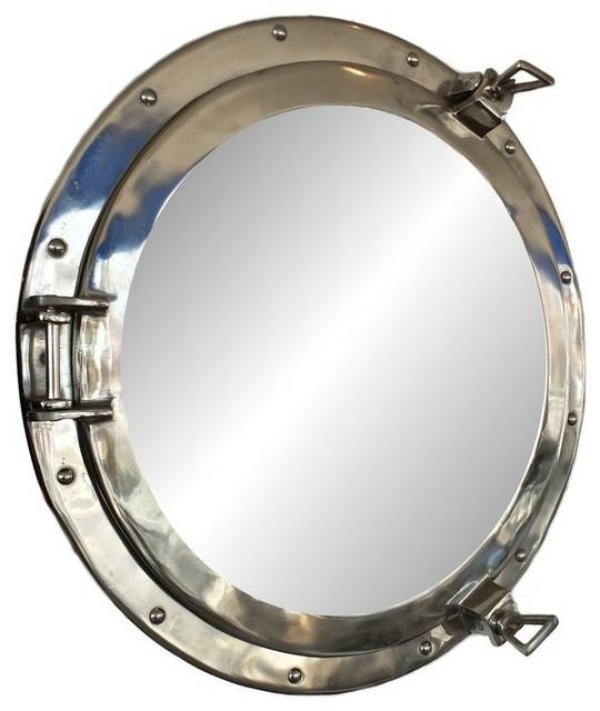Porthole Mirror | Houzz Throughout Porthole Wall Mirrors (View 2 of 20)