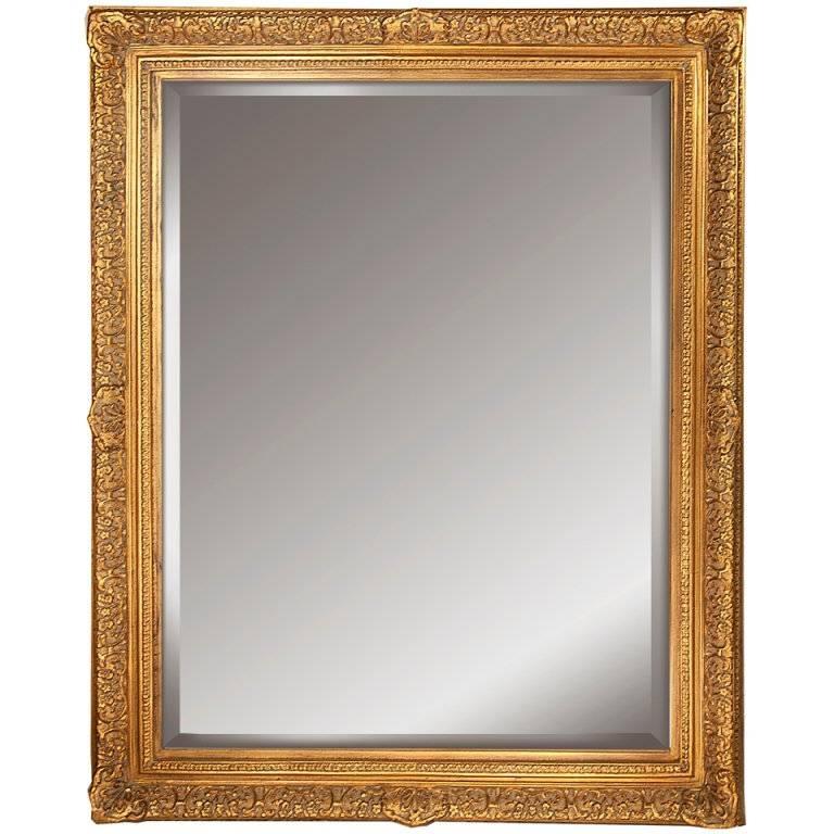 Portrait Sized Ornate Gilt Framed Mirror At 1Stdibs In Gilt Edged Mirrors (#16 of 20)