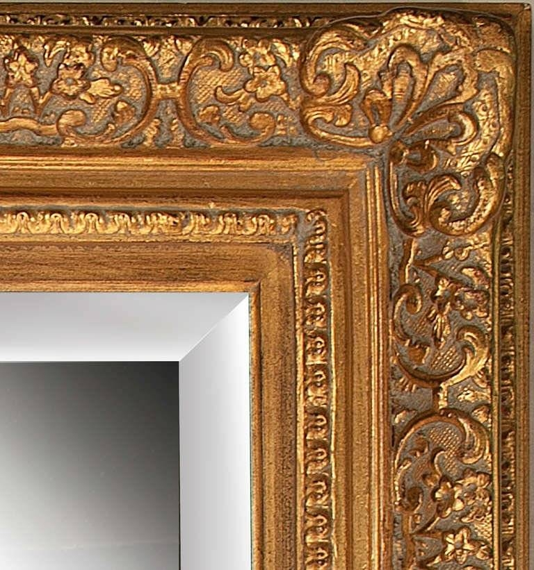 Portrait Sized Ornate Gilt Framed Mirror At 1Stdibs In Gilt Framed Mirrors (View 18 of 20)