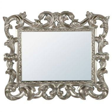 Product Categories Vintage Mirrors With Silver Baroque Mirrors (#17 of 30)