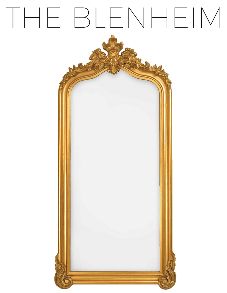 Product Spotlight: French Traditional Mirrors – Selectionschaumont For Gold Standing Mirrors (#25 of 30)