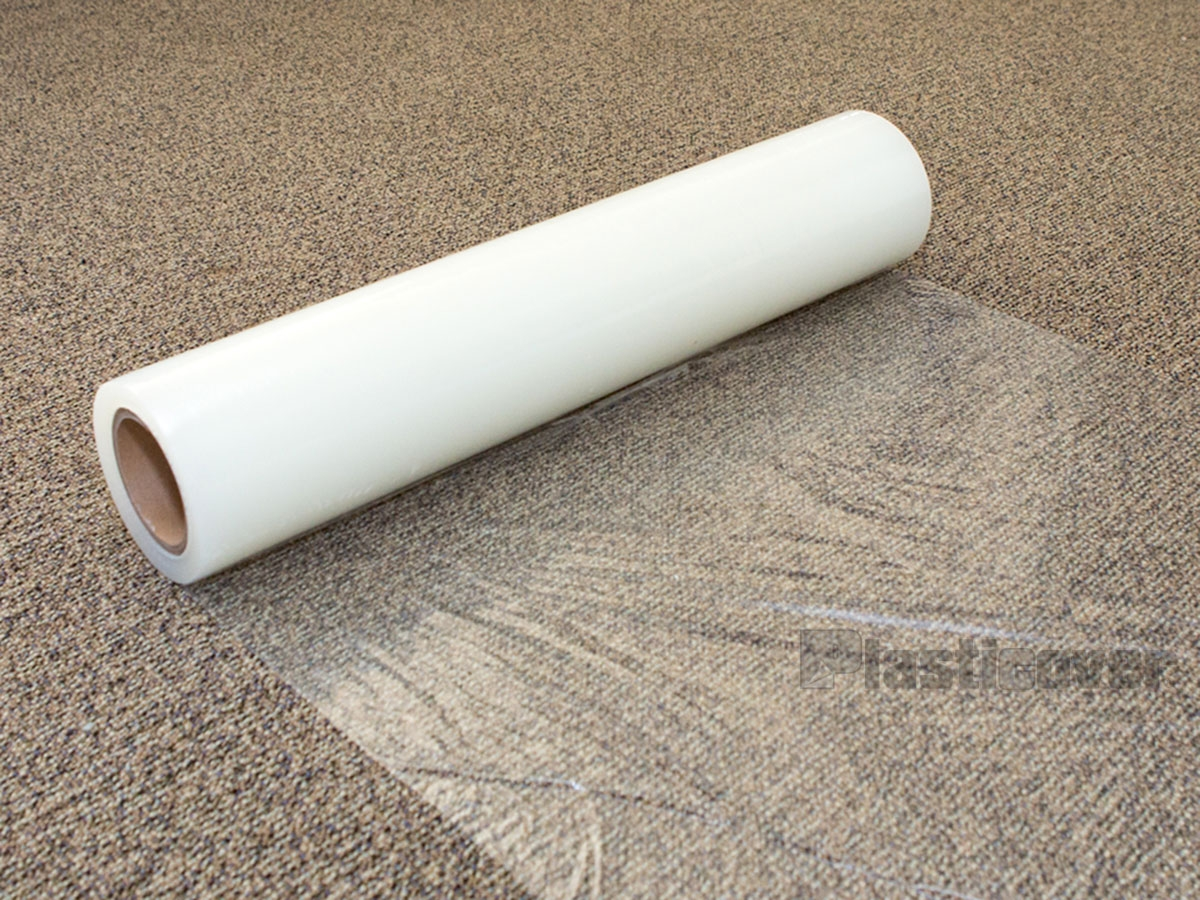 Protection Film With Plastic Carpet Protector Hallway Runners (#19 of 20)