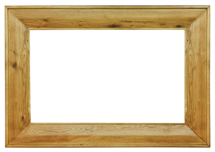 Popular Photo of Large Oak Mirrors