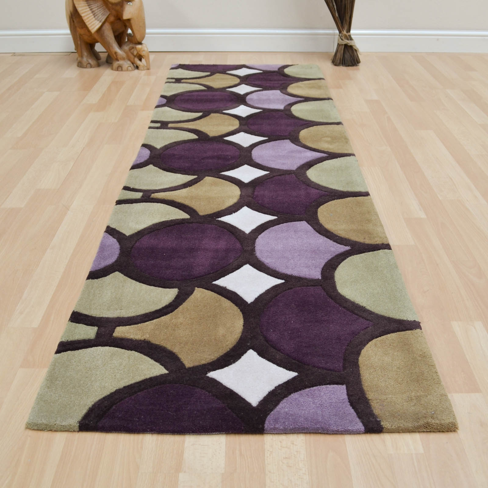 Purple Hall Runner Rugs Photo Home Furniture Ideas For Hall Runners And Rugs  (#18