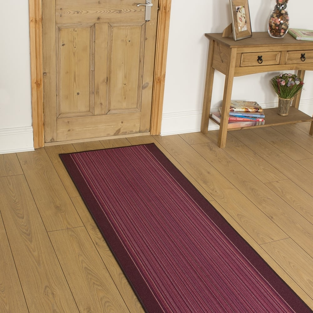 Purple Hall Runner Rugs Photo Home Furniture Ideas Pertaining To Runner Rugs For Hallways (View 7 of 20)