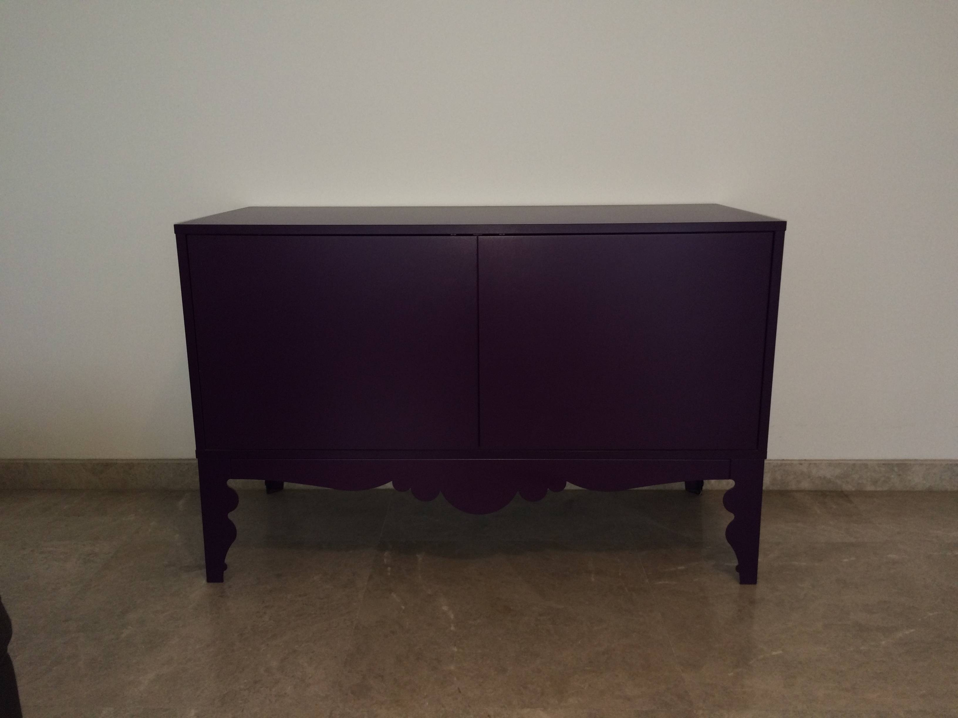Purple Sideboard/cabinet | Qatar Living In Purple Sideboard (#13 of 20)