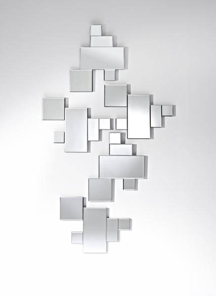 Puzzle Frameless Bevelled Shaped Wall Mirror – £ (#14 of 20)