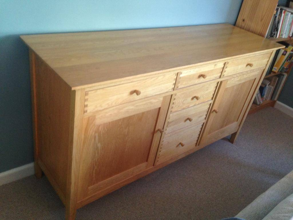 Inspiration about Quality Oak Sideboard For Sale | In Wimborne, Dorset | Gumtree Pertaining To Oak Sideboard For Sale (#15 of 20)