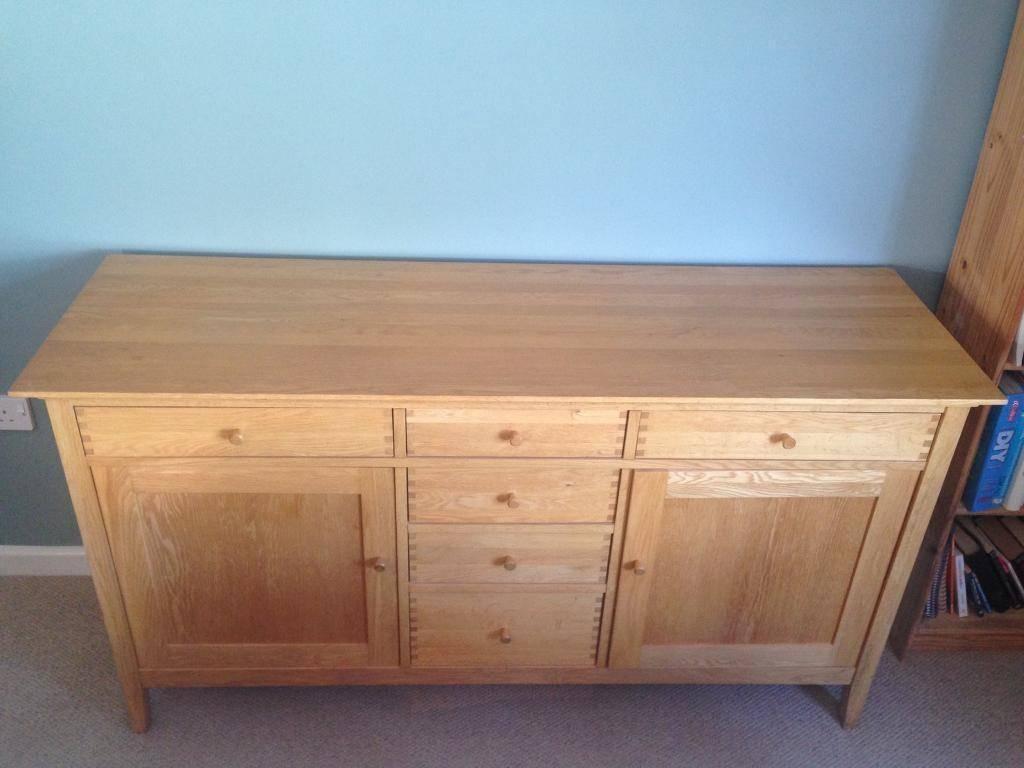 Quality Oak Sideboard For Sale | In Wimborne, Dorset | Gumtree Regarding Oak Sideboard For Sale (View 11 of 20)