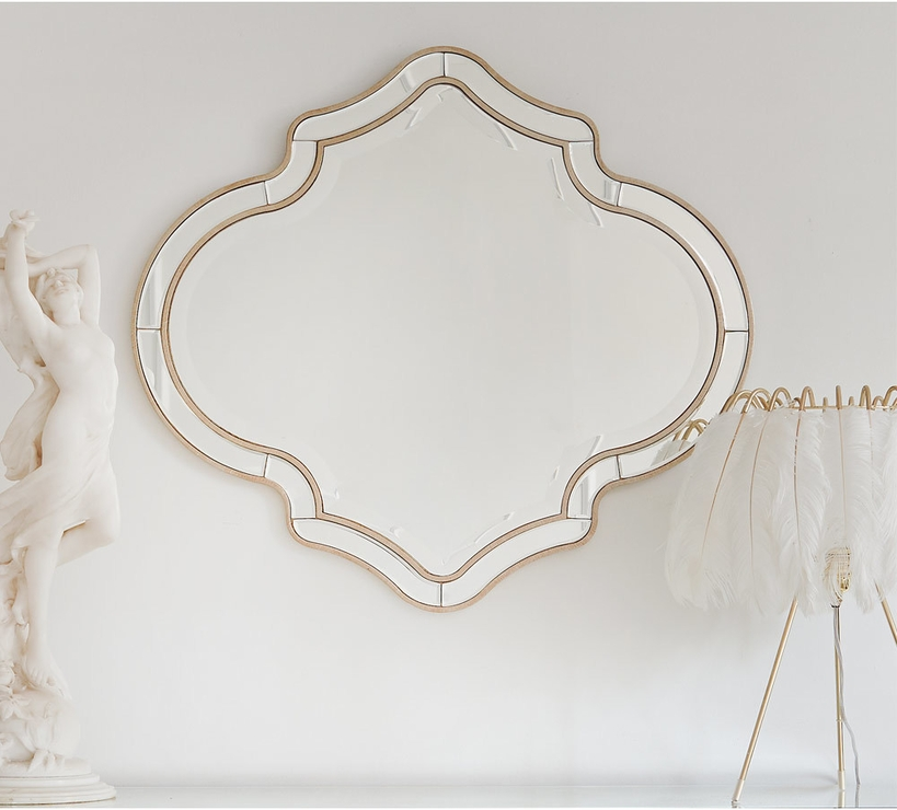 Inspiration about Quatrefoil Alameda Bevelled Wall Mirror | Mirrors Intended For Bevelled Wall Mirrors (#15 of 20)