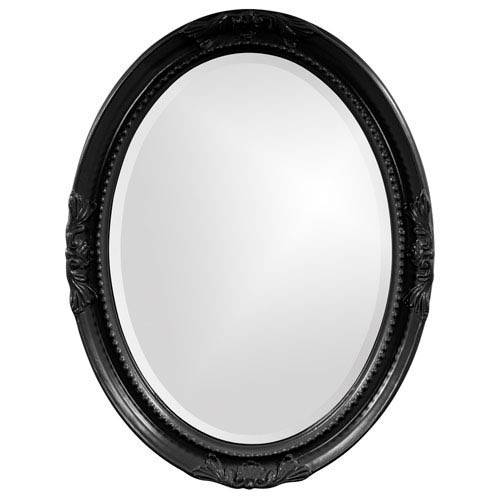 Inspiration about Queen Ann Black Oval Mirror Howard Elliott Collection Wall Mirror With Regard To Oval Black Mirrors (#2 of 20)