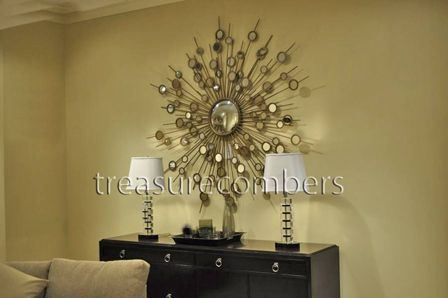Popular Photo of Extra Large Sunburst Mirrors