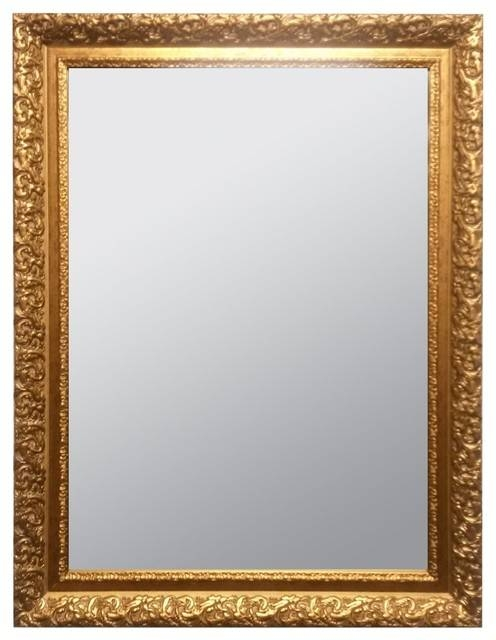 Raphael Rozen Classic Framed Antique Style Wall Mirror Within Antique Looking Mirrors (#18 of 20)